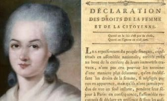 mujer feminista Olympe de Gouges