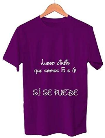 camiseta feminista morada día de la mujer