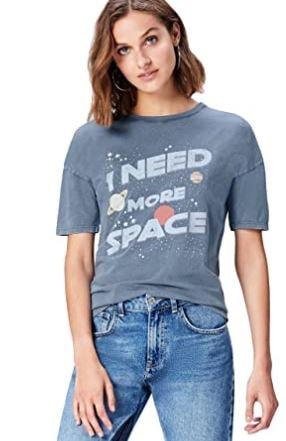 camiseta con mensaje feminista oferta