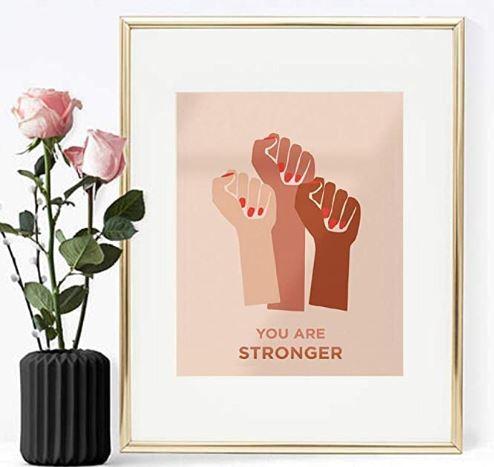 comprar articulo de decoración feminista en oferta