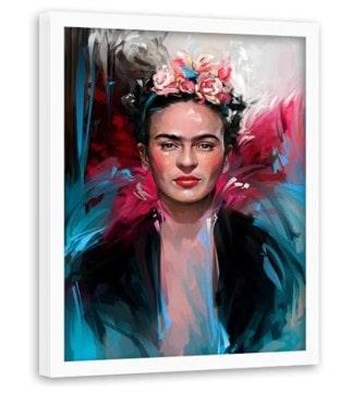 ilustración feminista original de frida kahlo