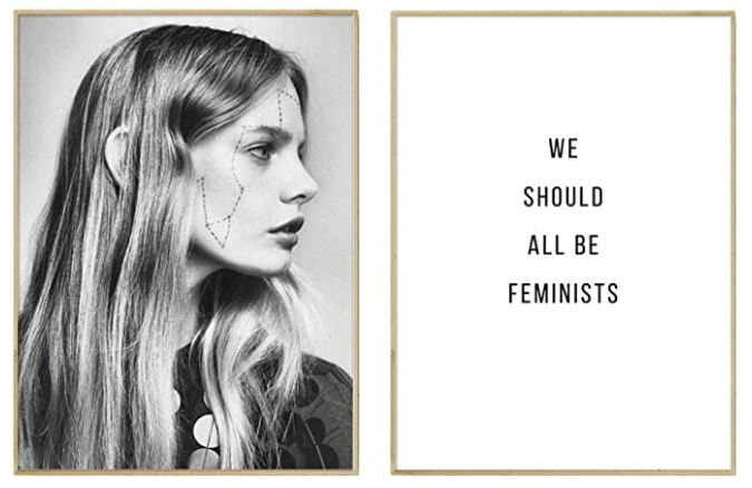 decoracion feminista para casa moderna
