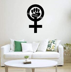 oferta decoraciones feministas