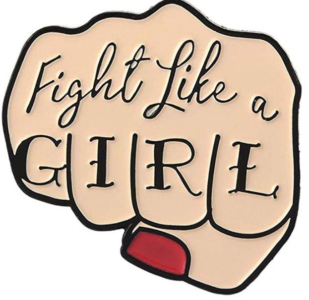 chapa feminista dia de la mujer