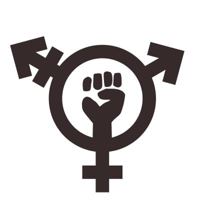 simbolo trans feminista