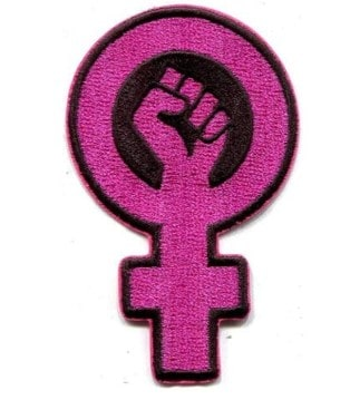 parche bordado reivindicativo feminista