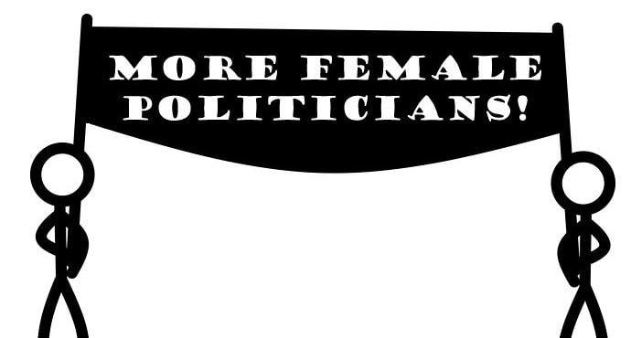 avance del feminismo en españa personas protestan por más mujeres en política